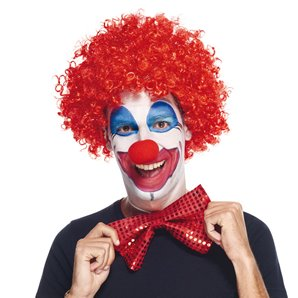 PERRUQUE CLOWN ROUGE