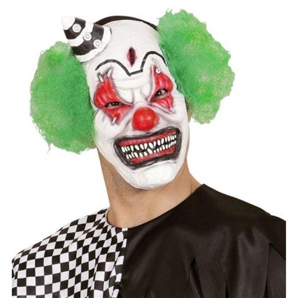 masque de clown tueur avec cheveux. Black Bedroom Furniture Sets. Home Design Ideas