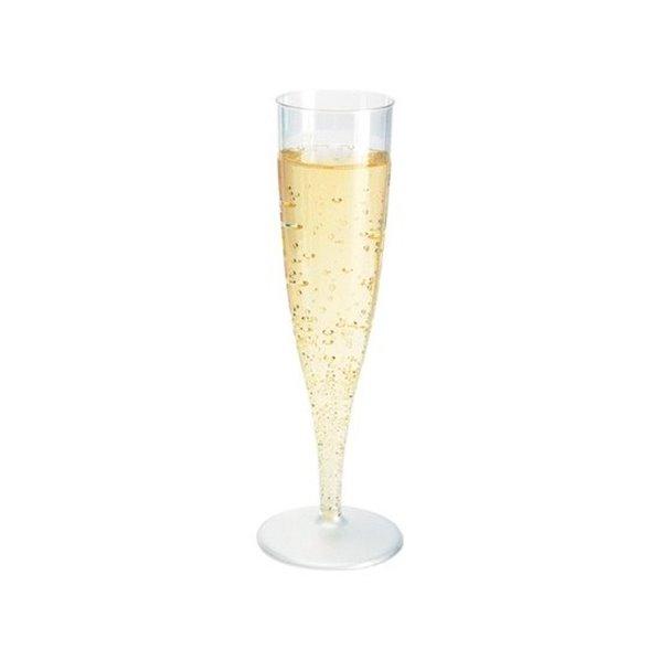 flute champagne en plastique 13 5 cl x10. Black Bedroom Furniture Sets. Home Design Ideas