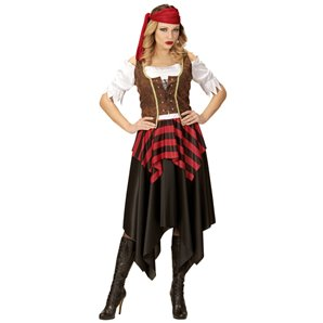 COSTUME PIRATE 3 PIECES TAILLE XS