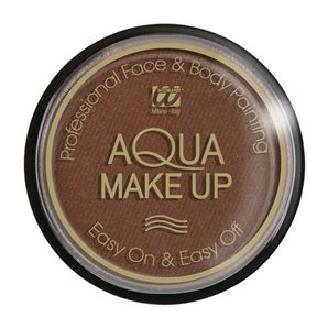 MAQUILLAGE A L'EAU MARRON - POT DE 30 GRAMMES