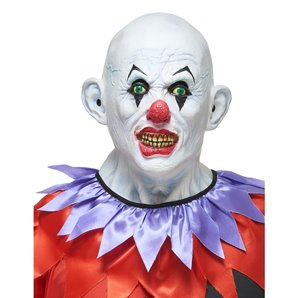 MASQUE CLOWN TERRIBLE EN LATEX
