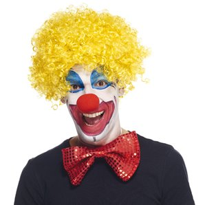PERRUQUE CLOWN JAUNE