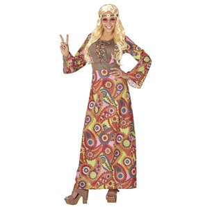COSTUME HIPPIE FEMME LONGUE TAILLE S