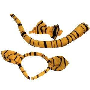 SET DEGUISEMENT TIGRE 3 PIECES EN PELUCHE