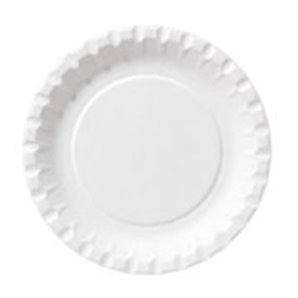 ASSIETTES CARTON 15CM COMPOSTABLES - PAQUET DE 100