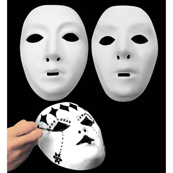 Masque blanc a decorer for Decorer un masque blanc