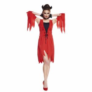 COSTUME DIABLESSE ROUGE L